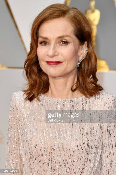 Isabelle Huppert attends the 89th Annual Academy Awards at Hollywood Highland Center on February 26 2017 in Hollywood California