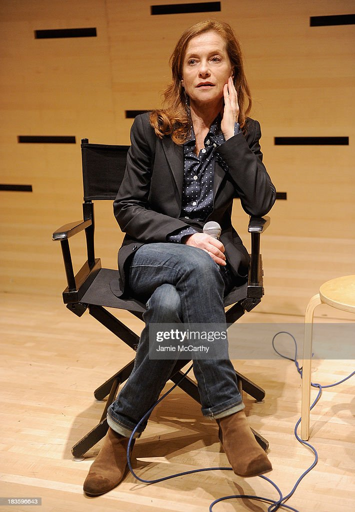 <a gi-track='captionPersonalityLinkClicked' href=/galleries/search?phrase=Isabelle+Huppert&family=editorial&specificpeople=662796 ng-click='$event.stopPropagation()'>Isabelle Huppert</a> attends the <a gi-track='captionPersonalityLinkClicked' href=/galleries/search?phrase=Isabelle+Huppert&family=editorial&specificpeople=662796 ng-click='$event.stopPropagation()'>Isabelle Huppert</a>, 'Abuse Of Weakness' panel during the 51st New York Film Festival at Elinor Bunin Munroe Film Center on October 7, 2013 in New York City.