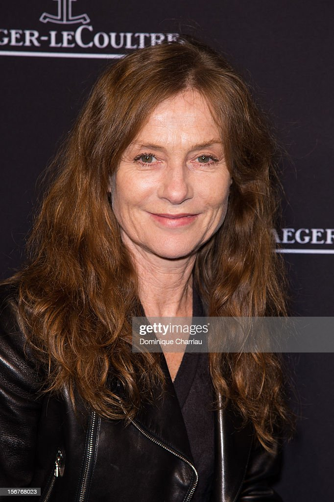 Isabelle Huppert attends the Jaeger-LeCoultre Place Vendome Boutique Opening at Jaeger-LeCoultre Boutique on November 20, 2012 in Paris, .