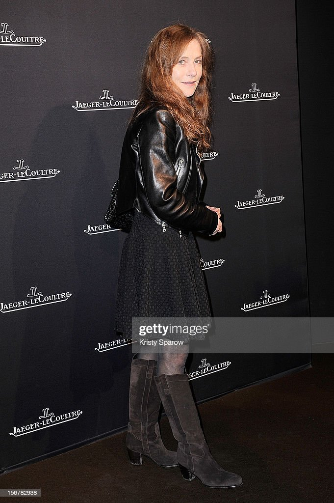 Isabelle Huppert attends the Jaeger-LeCoultre Place Vendome Boutique Opening at Jaeger-LeCoultre Boutique on November 20, 2012 in Paris.