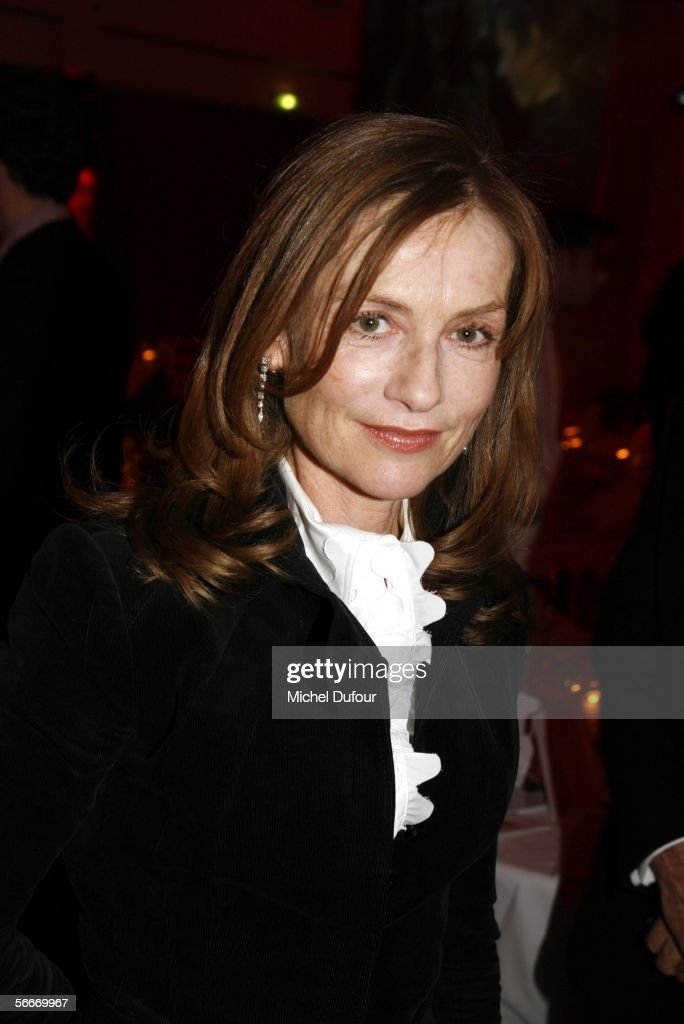 Isabelle Huppert attends the Sidaction Party raising funds in support of AIDS during Paris Fashion Week Spring/Summer 2006 at Pavillon D'Armenonville...