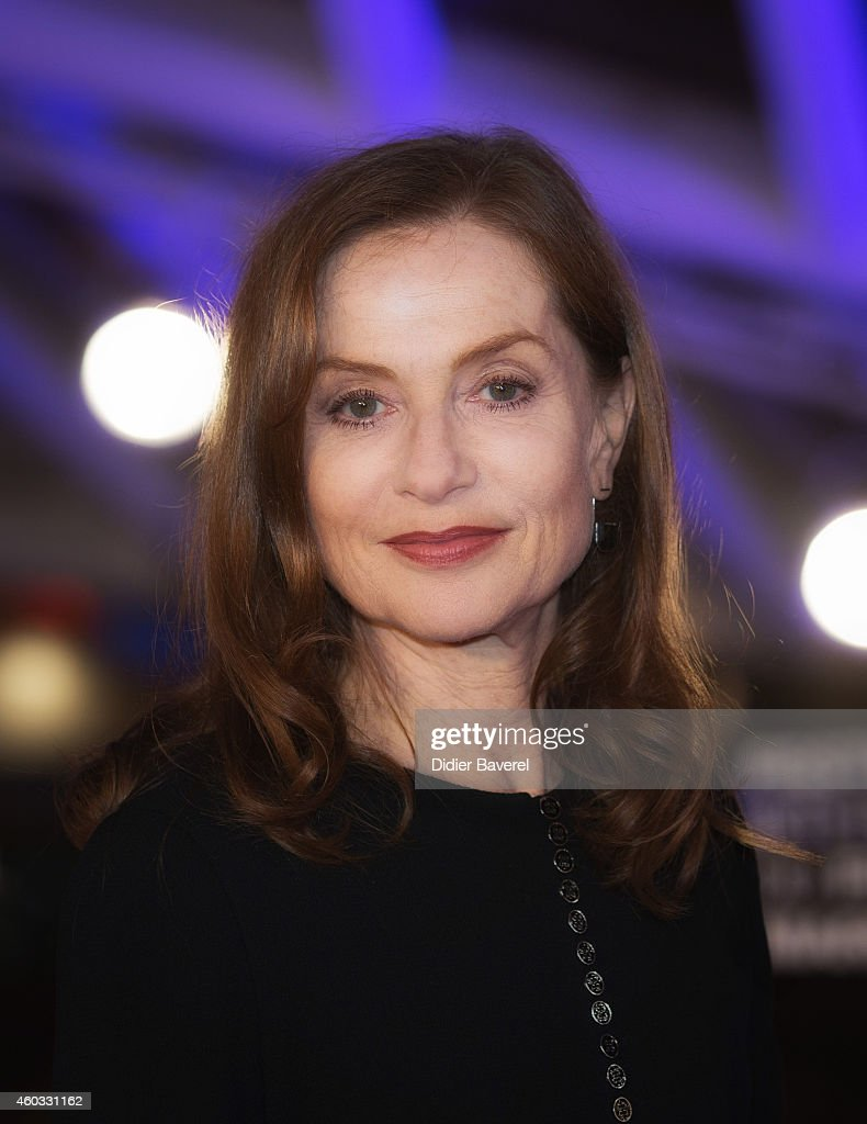 <a gi-track='captionPersonalityLinkClicked' href=/galleries/search?phrase=Isabelle+Huppert&family=editorial&specificpeople=662796 ng-click='$event.stopPropagation()'>Isabelle Huppert</a> attends the Timbuktu Premiere and moroccans producers Khadija Alami and Zakaria Alaoui Tribute during the 14th Marrakech International Film Festival on December 11, 2014 in Marrakech, Morocco.
