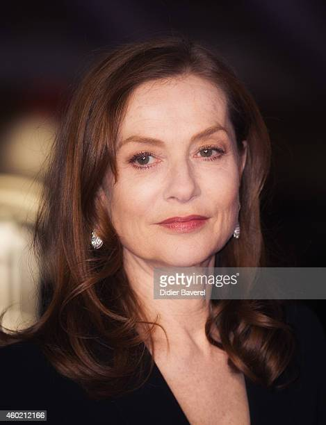 Isabelle Huppert attends the tribute to Japanese cinema at 14th Marrakech International Film Festival on December 9 2014 in Marrakech Morocco
