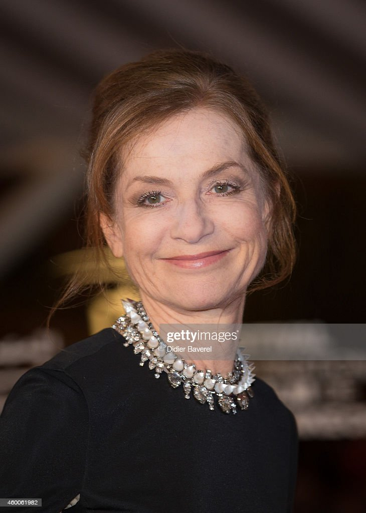 Isabelle Huppert attends the Tribute to Jeremy Irons as part of the 14th Marrakech International Film Festival December 6, 2014 in Marrakech, Morocco.