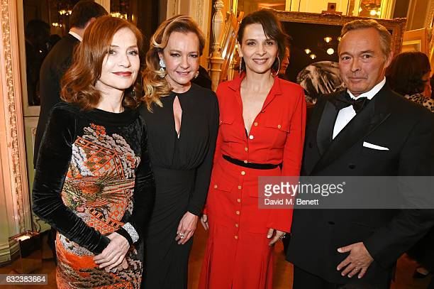 Isabelle Huppert Caroline Scheufele Artistic Director and CoPresident of Chopard Juliette Binoche and KarlFriedrich Scheufele CoPresident of Chopard...