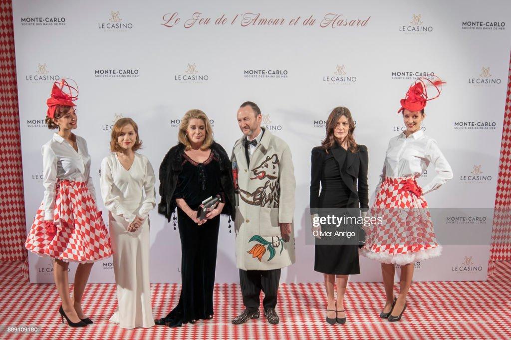 """Surrealist Dinner Charles Kaisin"" In Monaco"