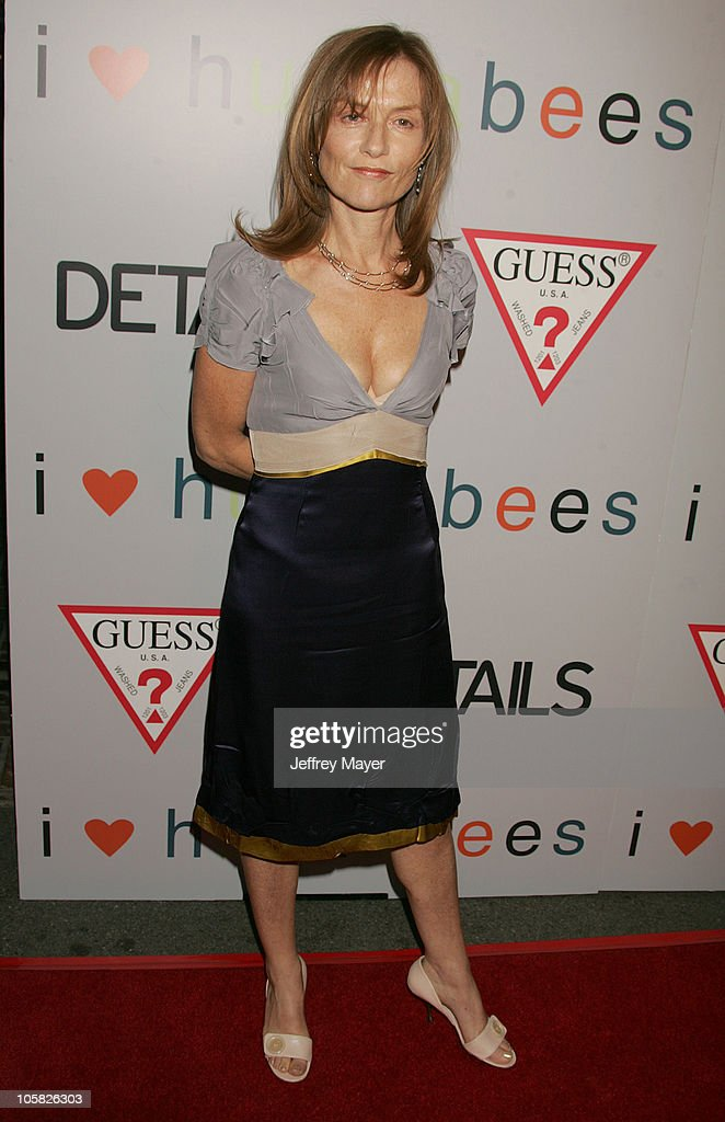 Isabelle Huppert during 'I Heart Huckabees' Los Angeles Premiere - Arrivals at The Grove in Hollywood, California, United States.