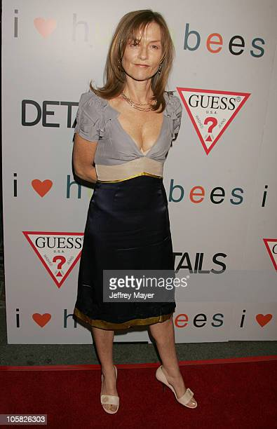 Isabelle Huppert during 'I Heart Huckabees' Los Angeles Premiere Arrivals at The Grove in Hollywood California United States