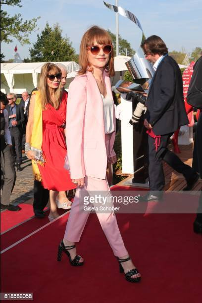 Isabelle Huppert during the media night of the CHIO 2017 on July 18 2017 in Aachen Germany
