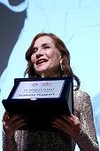Isabelle Huppert Receives The Lifetime Achievement...