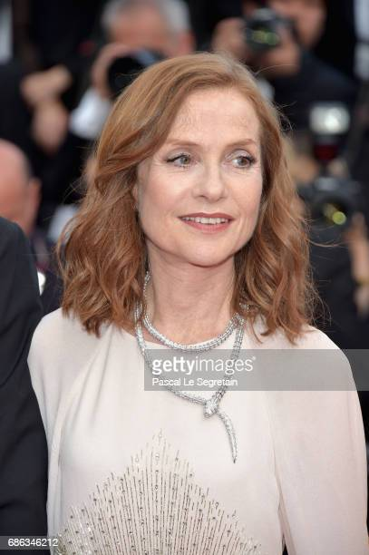 Isabelle Huppert of 'Claire's Camera ' walks the red carpet ahead of the 'The Meyerowitz Stories' screening during the 70th annual Cannes Film...