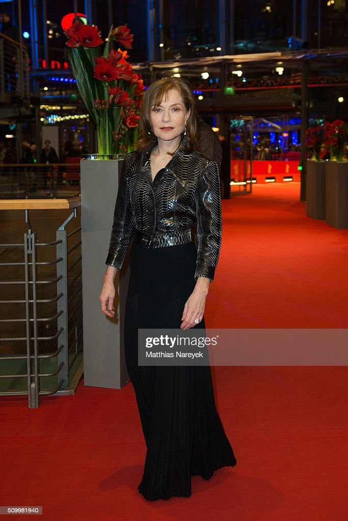 <a gi-track='captionPersonalityLinkClicked' href=/galleries/search?phrase=Isabelle+Huppert&family=editorial&specificpeople=662796 ng-click='$event.stopPropagation()'>Isabelle Huppert</a> the 'Things to Come' (L'avenir) premiere during the 66th Berlinale International Film Festival Berlin at Berlinale Palace on February 13, 2016 in Berlin, Germany.
