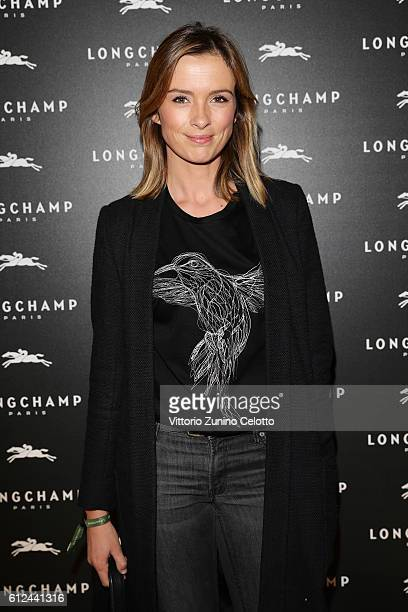 Isabelle Ithurburu attends the Lonchamp Cocktail as part of the Paris Fashion Week Womenswear Spring/Summer 2017 at Longchamp Boutique St Honore on...