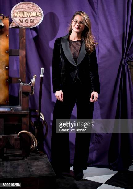 Isabelle Junot during 'La Familia Addams' Madrid Premiere on October 10 2017 in Madrid Spain
