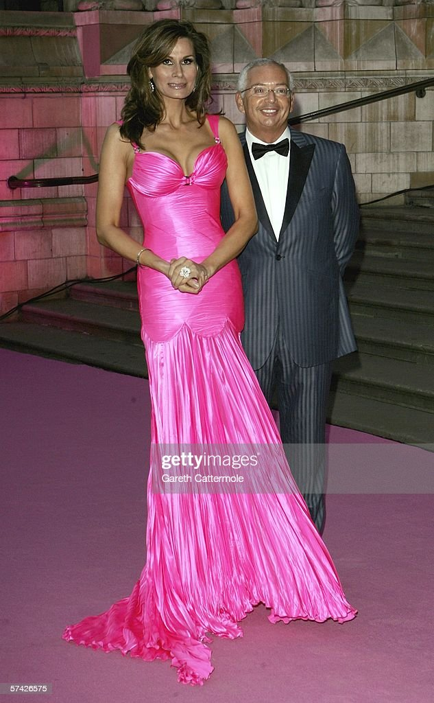 Isabelle Kristensen and Henri Zimand attend The Blush Ball, raising funds for the construction of a third Breast Cancer Haven in North England, at the Natural History Museum on April 25, 2006 in London, England.