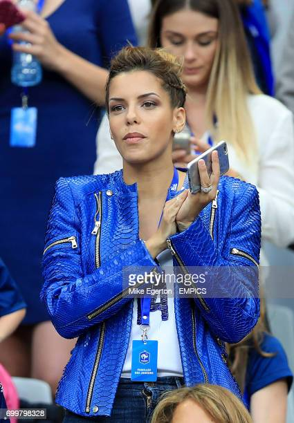 Isabelle Matuidi in the stands