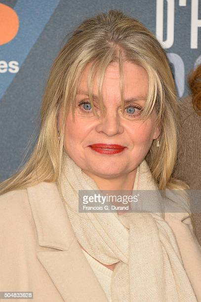 Isabelle Nanty arrives at the opening ceremony of the 18th L'Alpe D'Huez International Comedy Film Festival on January 13 2016 in Alpe d'Huez France