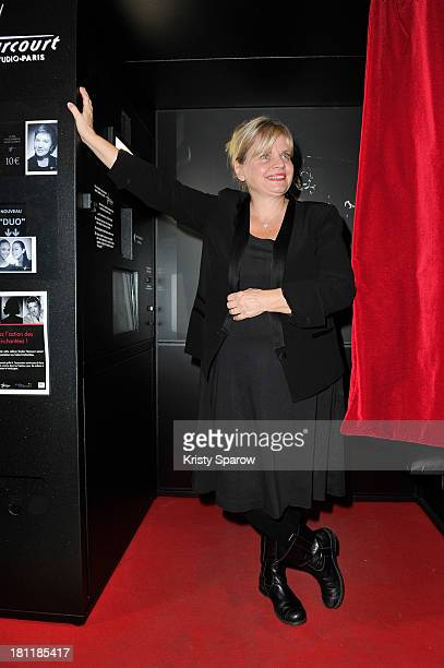 Isabelle Nanty attends the 'Stars Parmi Les Stars By Studio Harcourt' Exhibition at Forum des images on September 19 2013 in Paris France