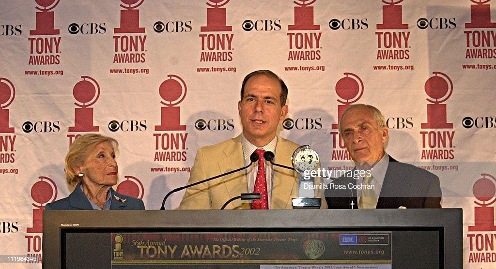 2002 Tony Award Nominations