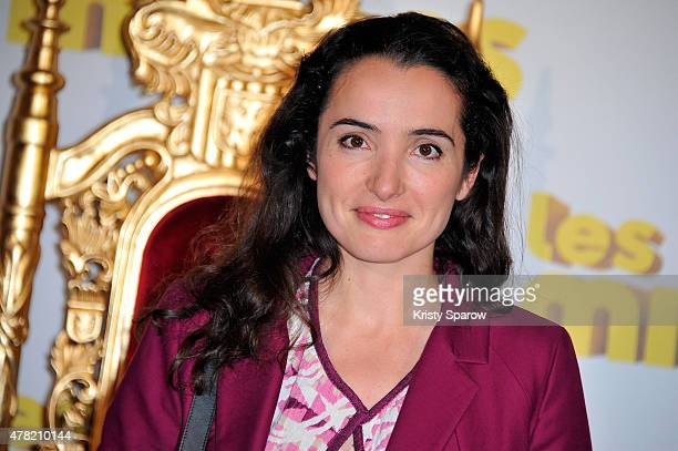 Isabelle Vitari attends the 'Les Minions' Paris Premiere at Le Grand Rex on June 23 2015 in Paris France