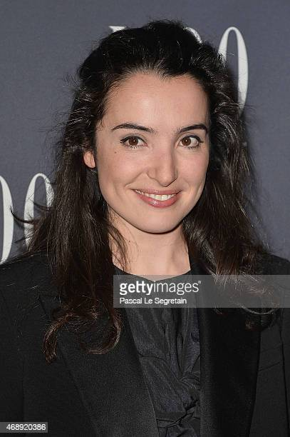 Isabelle Vitari attends the 'Paris Merveilles' Lido New Revue Opening Gala at Le Lido on April 8 2015 in Paris France