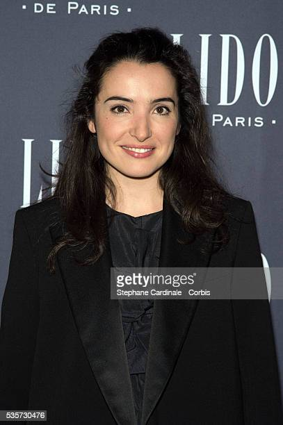 Isabelle Vitari attends the Paris Merveilles' Lido New Revue The Show At Opening Gala In Paris at Le Lido on April 8 2015 in Paris France