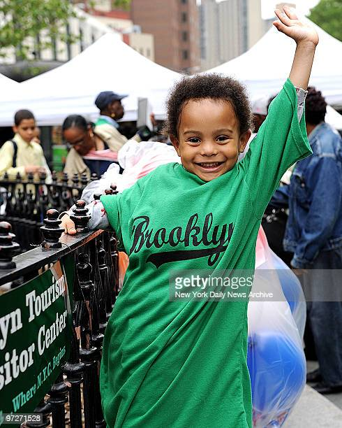 Isaiah Damiana on Brooklyn Day Rally to support the Atlantic Yards project and The Nets moving to Brooklyn Brooklyn Borough Hall
