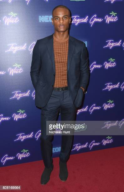 Isaiah Hamilton attends the Neon Hosts The New York Premiere of 'Ingrid Goes West' at Alamo Drafthouse Cinema on August 8 2017 in the Brooklyn...