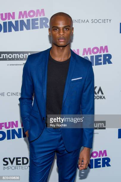 Isaiah Hamilton attends the screening of 'Fun Mom Dinner' at Landmark Sunshine Cinema on August 1 2017 in New York City