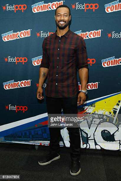 Isaiah Mustafa attends Shadowhunters press conference during the 2016 New York Comic Con day 3 on October 8 2016 in New York City