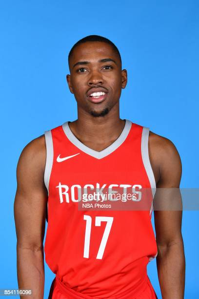 Isaiah Taylor of the Houston Rockets poses for a head shot during Media Day on September 25 2017 at the Toyota Center in Houston Texas NOTE TO USER...