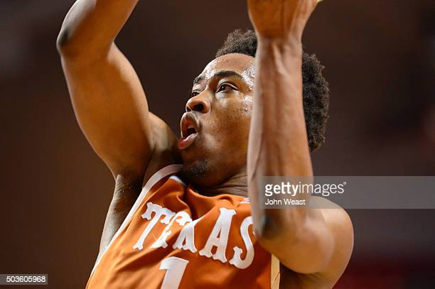Isaiah Taylor of the Texas Longhorns goes to the basket during the game against the Texas Tech Red Raiders on January 02 2016 at United Supermarkets...