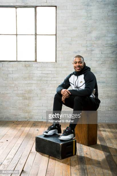 Isaiah Thomas of the Boston Celtics poses for a photo during the 2017 AllStar Media Circuit at the Ritz Carlton in New Orleans LA NOTE TO USER User...