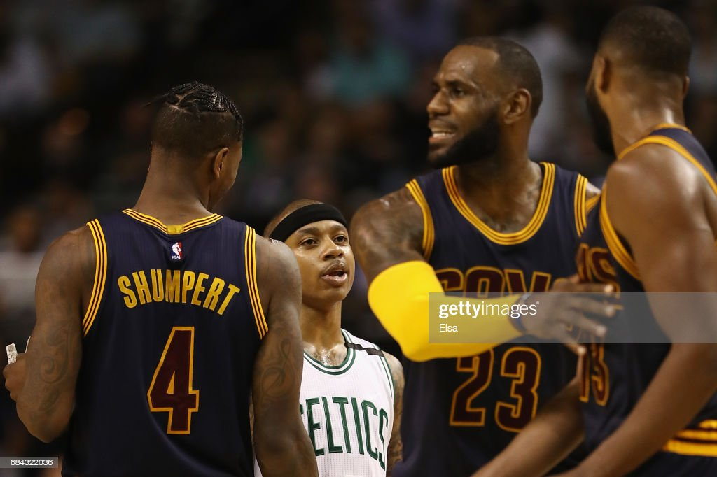 Cleveland Cavaliers v Boston Celtics - Game One : News Photo