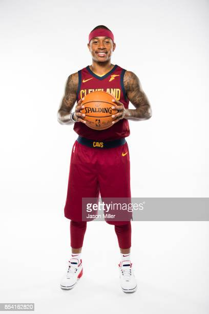 Isaiah Thomas of the Cleveland Cavaliers at Cleveland Clinic Courts on September 25 2017 in Independence Ohio NOTE TO USER User expressly...