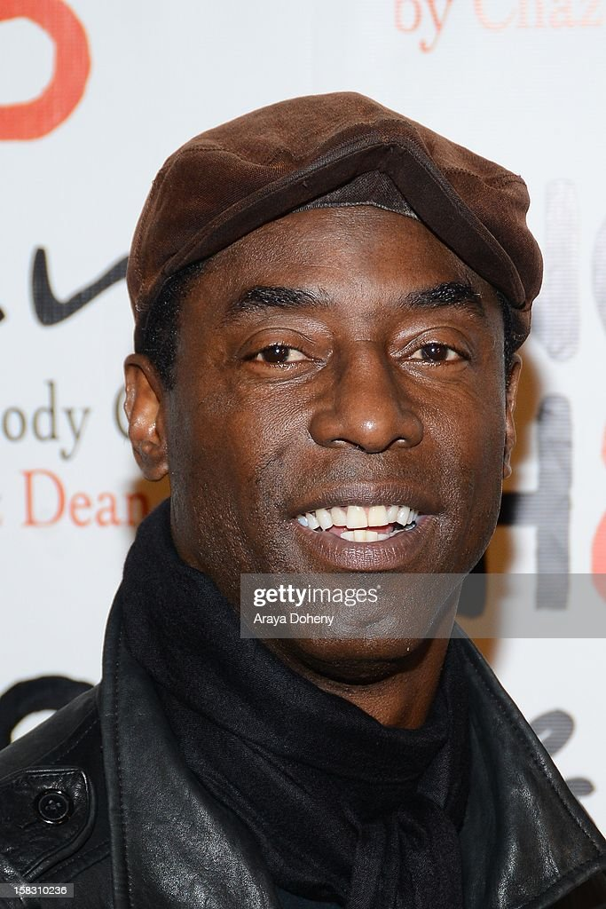 Isaiah Washington arrives at the NOH8?s 4th Anniversary celebration at Avalon on December 12, 2012 in Hollywood, California.