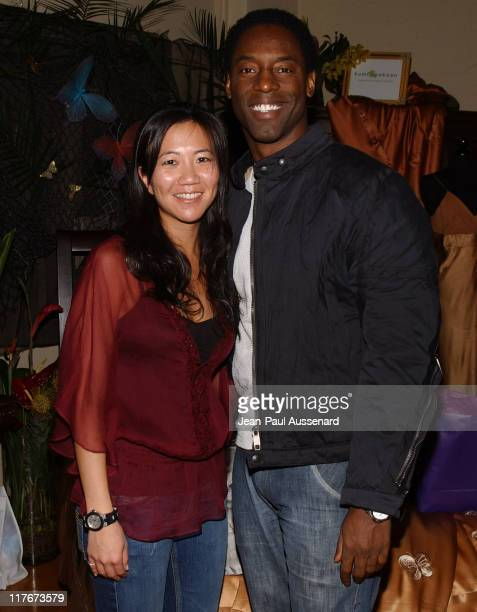 Isaiah Washington at Kookoon during Silver Spoon Golden Globes Hollywood Buffet Day 1 at Private Residence in Beverly Hills California United States...