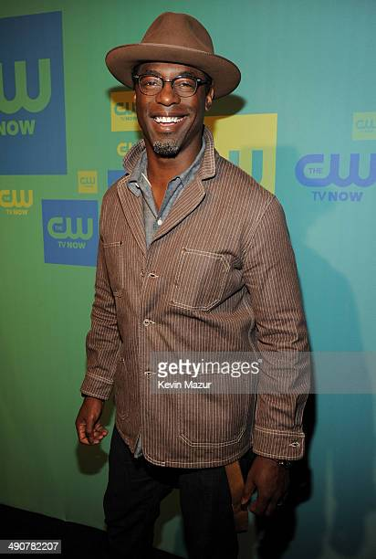 Isaiah Washington attends The CW Network's 2014 Upfront at The London Hotel on May 15 2014 in New York City