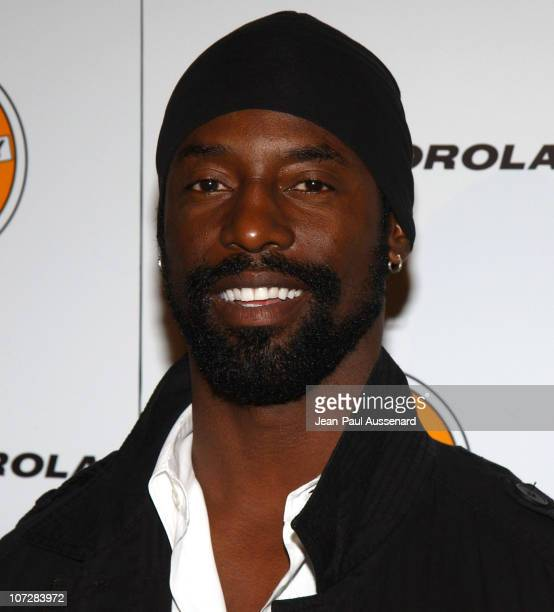 Isaiah Washington during Russell Simmons and Stan Nathan Host Def Poetry Jam Los Angeles Kick Off For 32 City Tour Arrivals at Wadsworth Theater in...