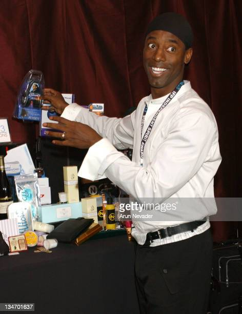 Isaiah Washington during The 18th Annual IFP Independent Spirit Awards Official Talent Gift Bag Produced by On 3 Productions at Santa Monica Beach in...