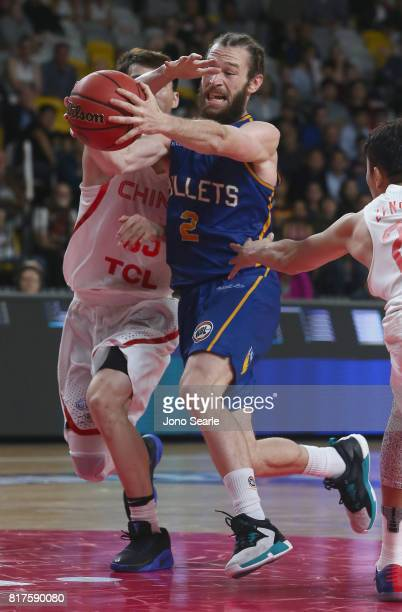Isaih Tueta during the match between the Brisbane Bullets and China at the Gold Coast Sports Leisure Centre on July 18 2017 in Gold Coast Australia