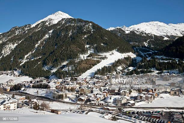 Ischgl in winter, Tirol, Austrian Alps, Austria, Europe