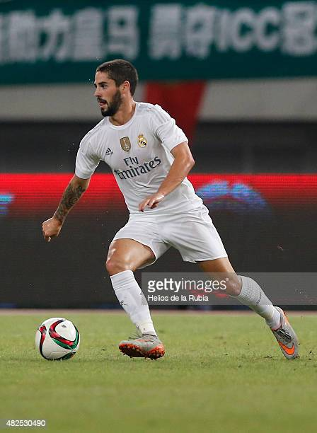 Isco Alarcon of Real Madrid in action during the International Champions Cup China match between Real Madrid and AC Milan at the Shanghai Stadium on...