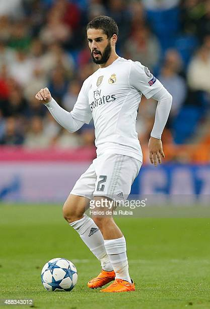 Isco Alarcon of Real Madrid in action during the UEFA Champions League Group A match between Real Madrid CF and FC Shakhtar Donetsk at Estadio...