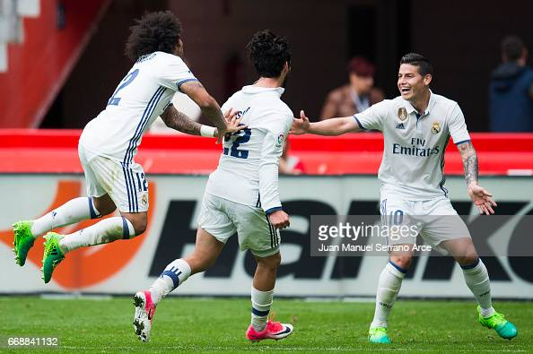 Real Sporting de Gijon v Real Madrid CF - La Liga : News Photo