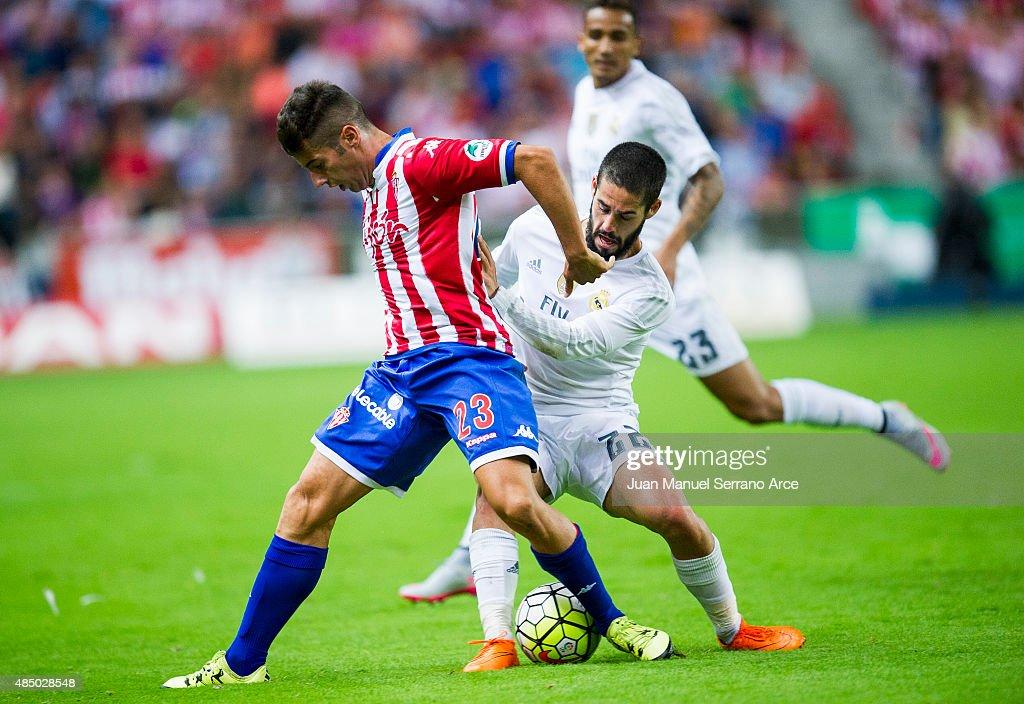 Sporting Gijon v Real Madrid CF - La Liga