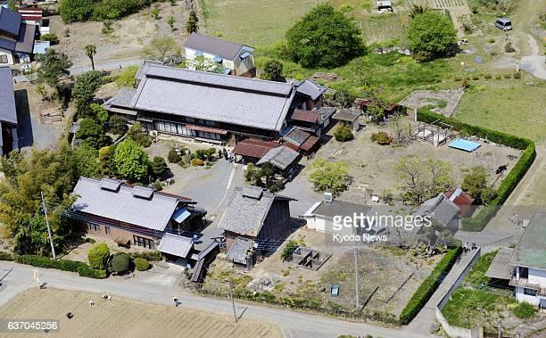 Isesaki Japan The Tajima Yahei sericulture farm house in Isesaki Gunma Prefecture is photographed on April 26 2014 A UNESCO advisory panel has...
