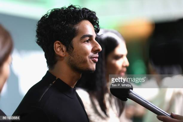 Ishaan Khatter attends the World Premiere of 'Beyond The Clouds' during the 61st BFI London Film Festival on October 13 2017 in London England