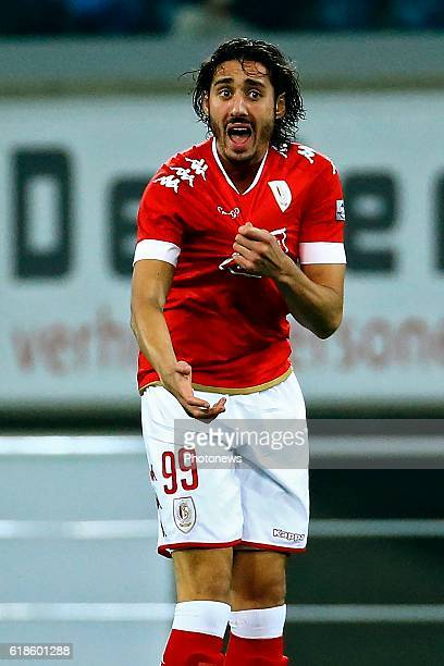 Ishak Belfodil forward of Standard Liege during the Jupiler Pro League match between KAA Gent and Standard de Liege in the Ghelamco Arena stadium on...