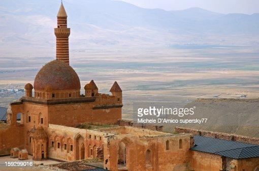 Ishak Pasha Palace : Stock Photo